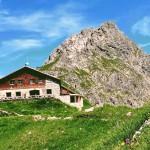 Fiederepass Hütte Mittelberg Kleinwalsertal